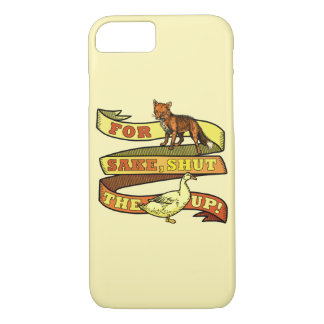 Funny Fox Duck Animal Pun iPhone 7 Case