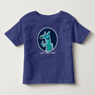 funny fox gives advice to us sweet cartoon toddler t-shirt