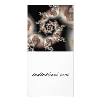 Funny Fractal Orang (SF) Picture Card