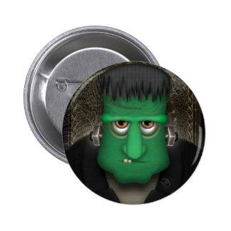 Funny Frankenstein Halloween Costume 2 Inch Round Button