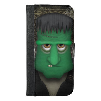 Funny Frankenstein Halloween Costume iPhone 6/6s Plus Wallet Case