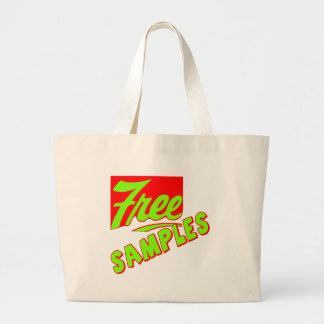 Funny Free Samples T-shirts Gifts Canvas Bag