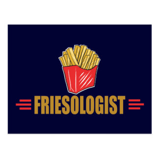 Funny French Fries Postcard