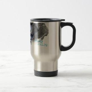 funny frenchbulldogs icon travel mug