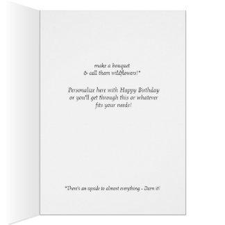 Funny friendship, birthday card for women