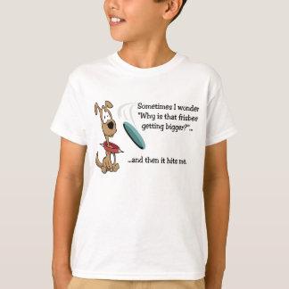 Funny Frisbee Dog T-Shirt