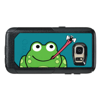 Funny Frog and Fly OtterBox Samsung Galaxy S7 Case