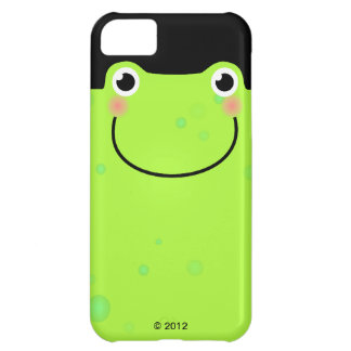 Funny Frog Face Cover For iPhone 5C