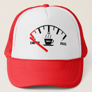 Funny Fuel Gauge Coffee Mug Time To Get Coffee Trucker Hat