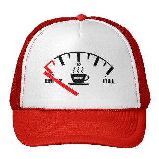 Funny Fuel Gauge Coffee Mug Time To Get Coffee Trucker Hat