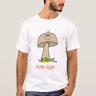 Funny Fun Guy Boyfriend Husband or Hippie T-Shirt
