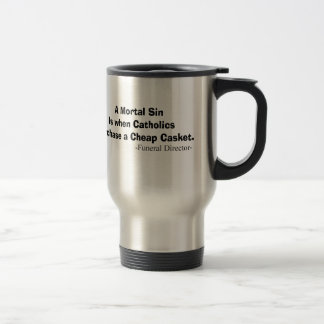 Funny Funeral Director Gifts Travel Mug