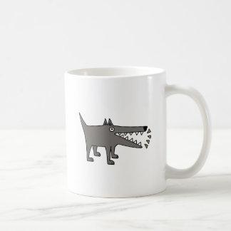 Funny Funky Barking Gray Watchdog Coffee Mug