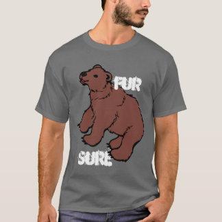 Funny Fur Sure Bear T-Shirt
