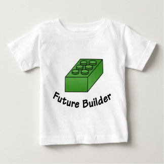 Funny Future Builder - Block Illustrations Baby T-Shirt