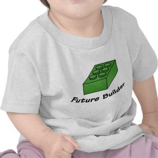 Funny Future Builder - Block Illustrations T-shirt