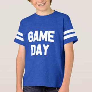 Funny Game day football boys shirt