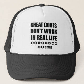 Funny Gamer designs Trucker Hat