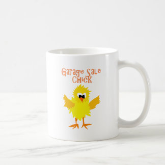 Funny Garage Sale Chick Cartoon Coffee Mug