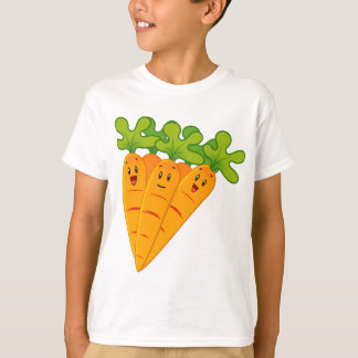 Funny garden carrots T-Shirt