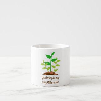 Funny Gardening Espresso Cup