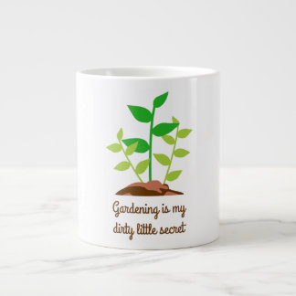 Funny Gardening Large Coffee Mug