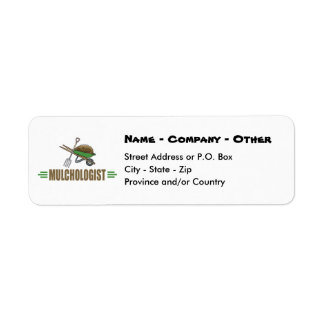 Funny Gardening Return Address Label