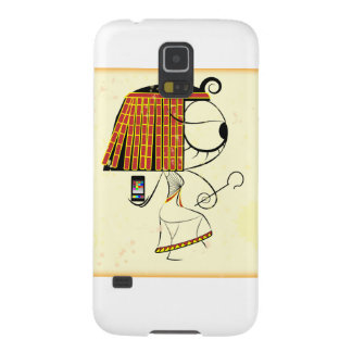 Funny geek egyptian empress galaxy s5 covers