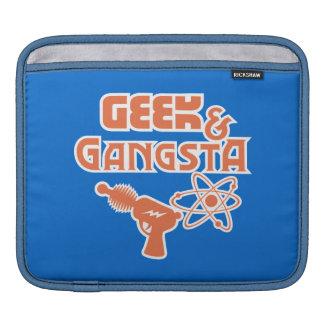 Funny Geek Gangsta Sci-Fi Ray Gun iPad Sleeve
