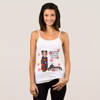 Funny Geisha Tank Top - Add Photo & Text