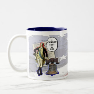 Funny George Washington Mugs & Cups