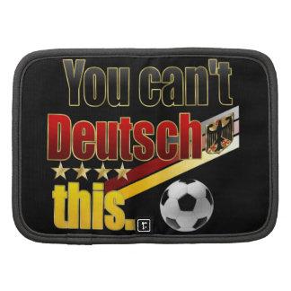 Funny German Humour Deutsch Lustig Fussball Humor Folio Planner