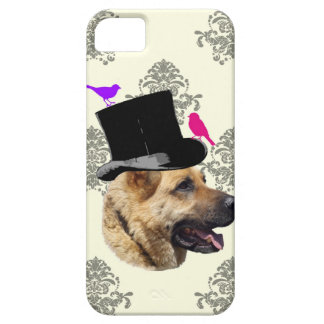 Funny German shepherd dog Case For The iPhone 5