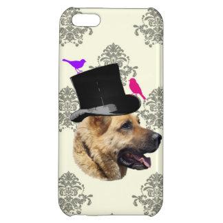 Funny German shepherd dog iPhone 5C Cases