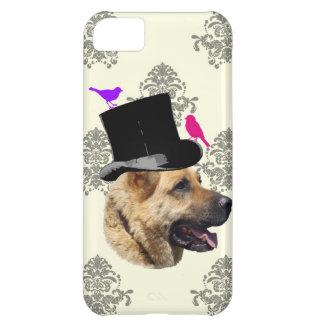 Funny German shepherd dog iPhone 5C Cover