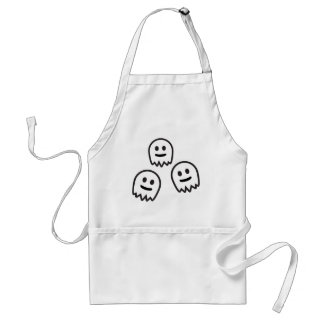 Funny Ghosts Monster Apron
