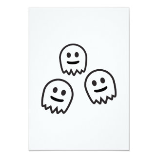 Funny Ghosts Monster Custom Invitations