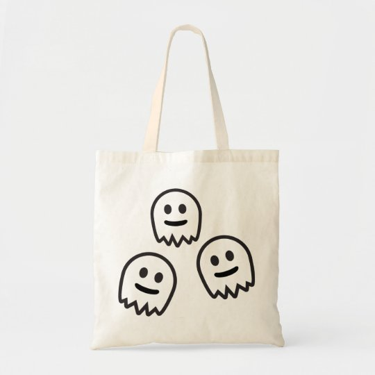 Funny Ghosts Monster Tote Bag