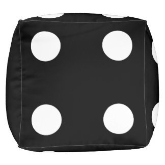 Funny Giant Dice - Customize Your Color Pouf
