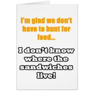Funny gift card