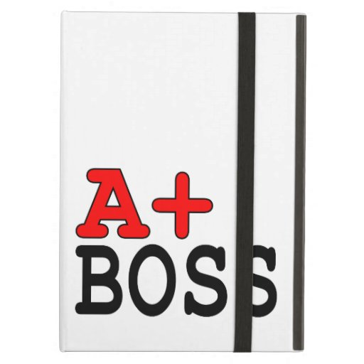 Funny Gifts for Bosses : A+ Boss iPad Cases