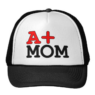 Funny Gifts for Moms : A+ Mom Trucker Hats