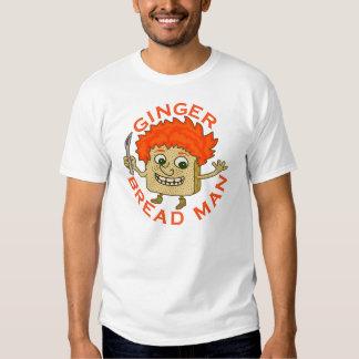 Funny Ginger Bread Man Christmas Pun Tee Shirt