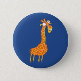 Funny Giraffe 2 Inch Round Button