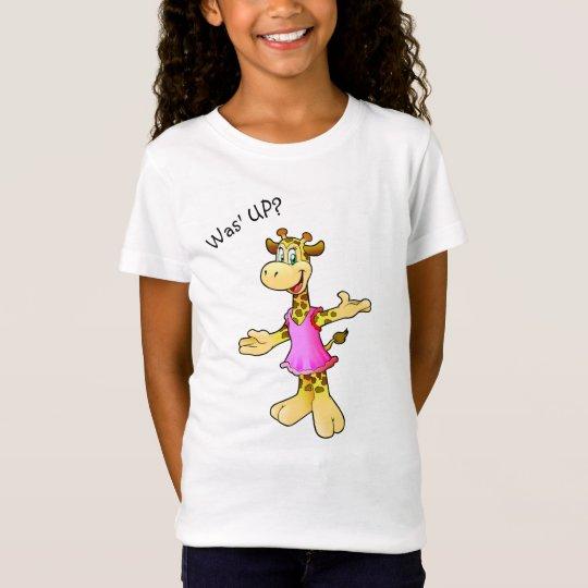 Funny Giraffe illustration T-Shirt