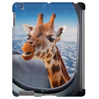 Funny Giraffe iPad, Barely There case