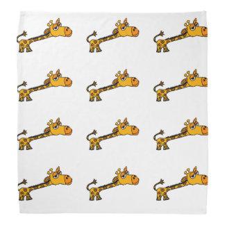 Funny Giraffe Original Art Cartoon Bandana