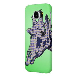 Funny Giraffes Head Samsung Galaxy S6 Cases