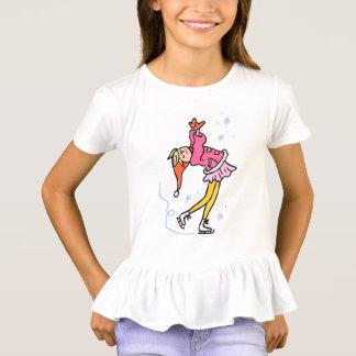funny girl children cartoon ice T-Shirt