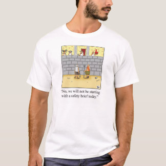 Funny Gladiator Humor Tee Shirt